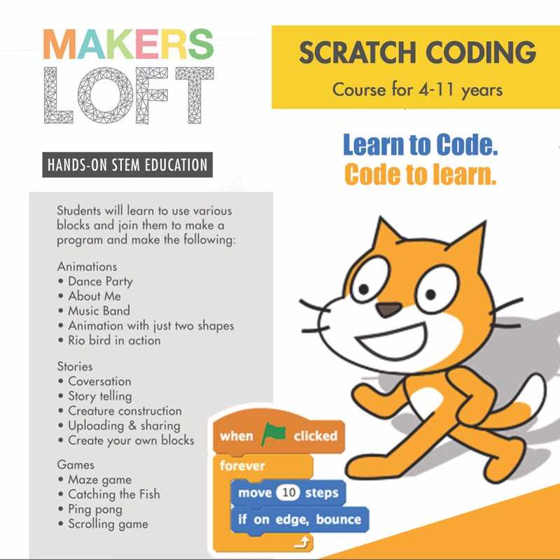 Scratch Coding Course by MakersLoft Cover Image