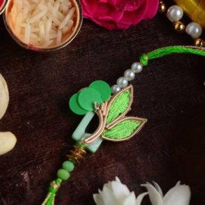 Stunning Leafy Rakhi