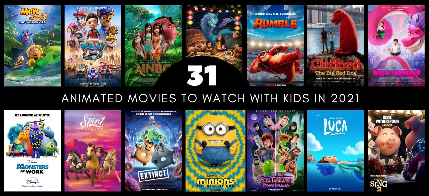 Top 31 Upcoming animated movies to watch out for in 2021! Mark your calendars today! Cover Image