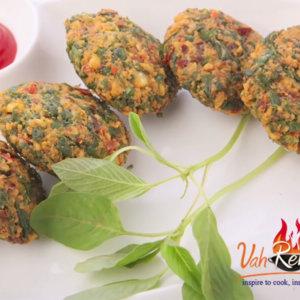 Amaranthus & Chana Dal Wada monsoon snack