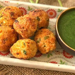 Healthy Kabuli Chana Pakora Recipe