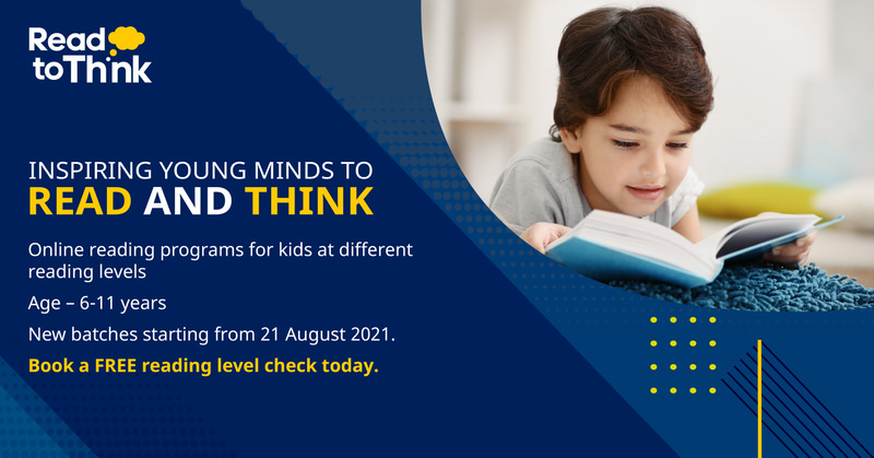 Read to Think: Online Reading Program for Kids Cover Image