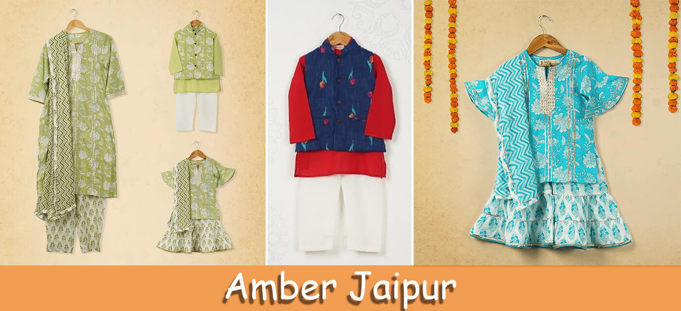 Amber Jaipur clothes for kids
