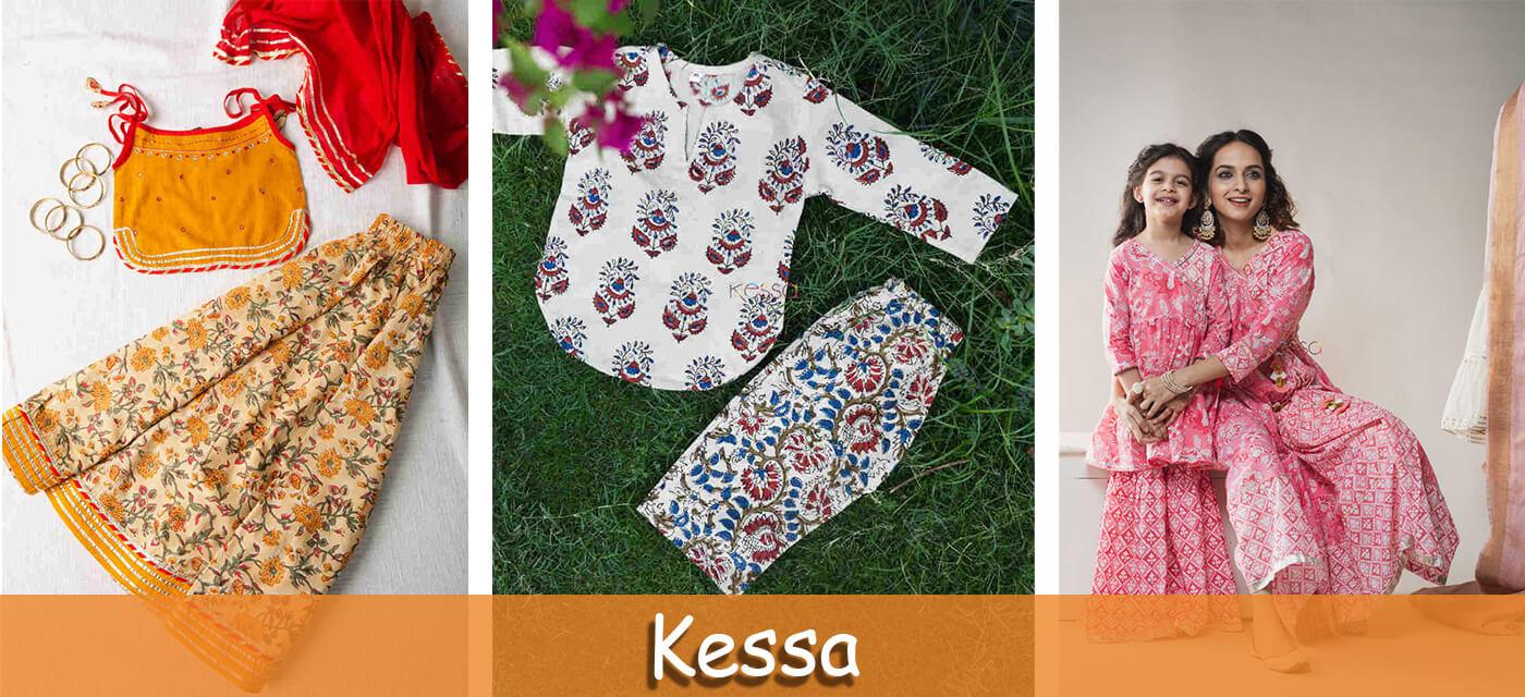 Kessa traditional clothes