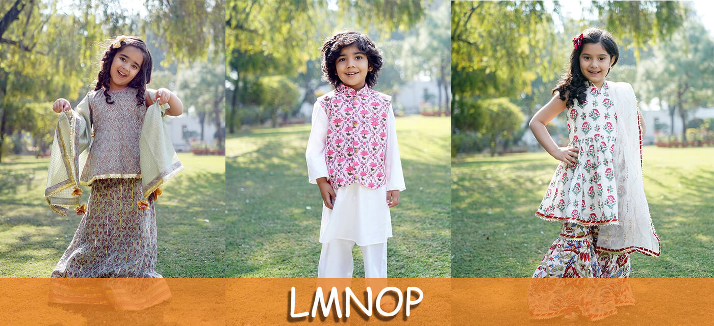 LMNOP clothes for kids