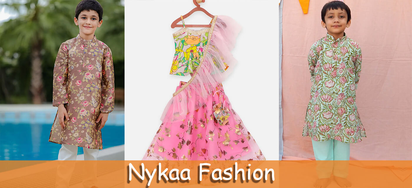 Nykaa Fashion ethnic clothes for kids