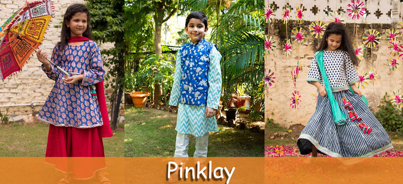 Pinklay ethnic clothes for kids