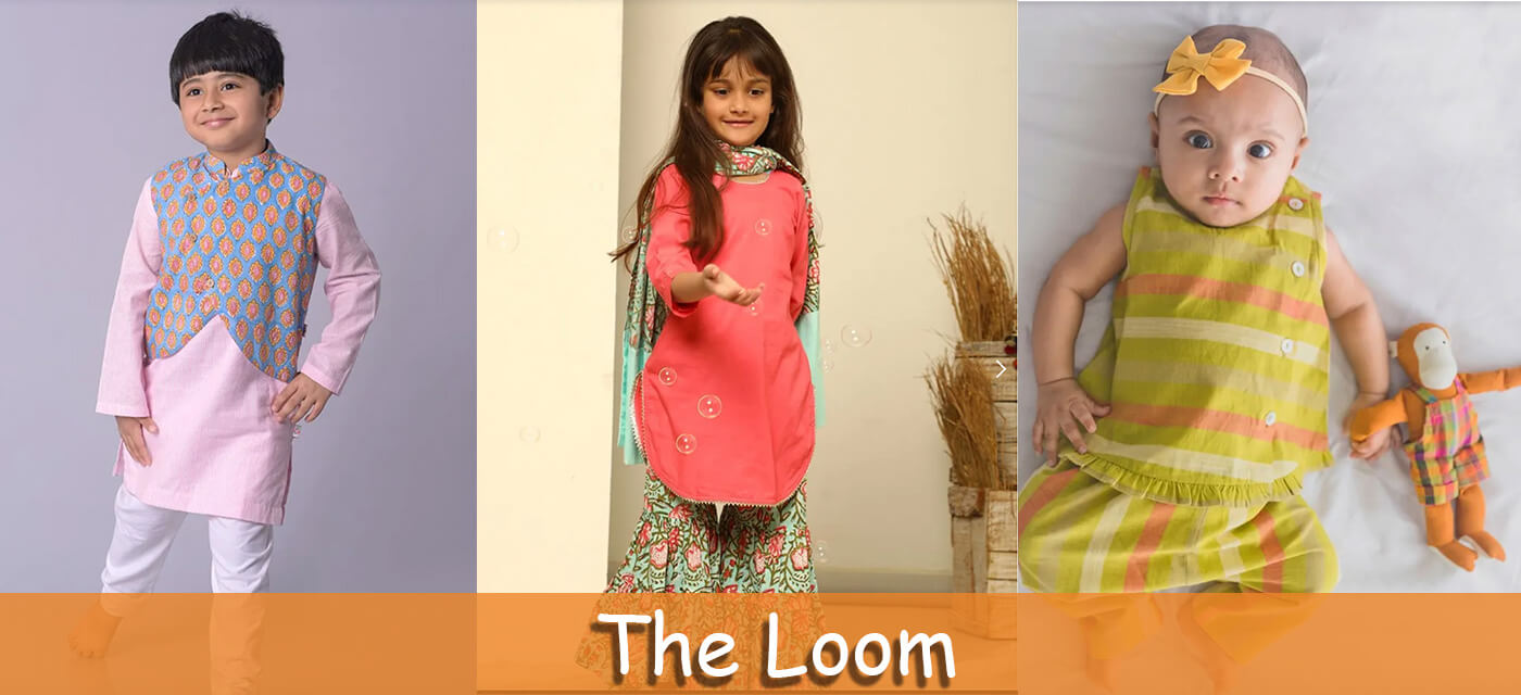 The Loom ethnic wear for kids