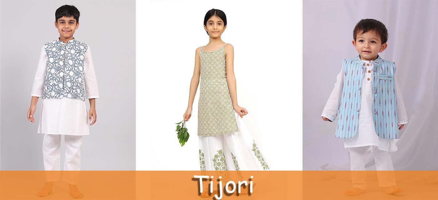Tijori clothes for kids
