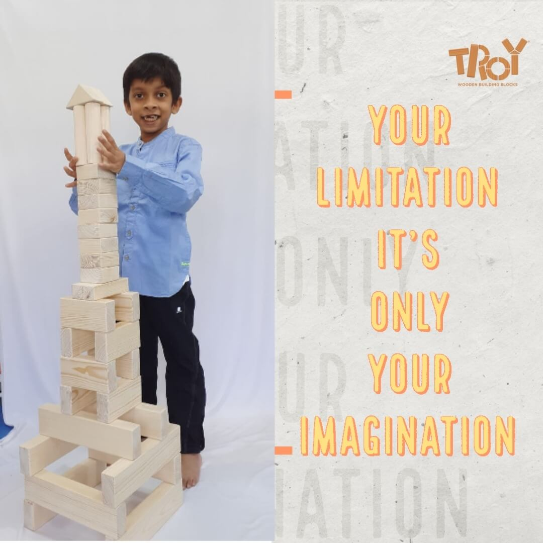 Troy Wooden Building Blocks
