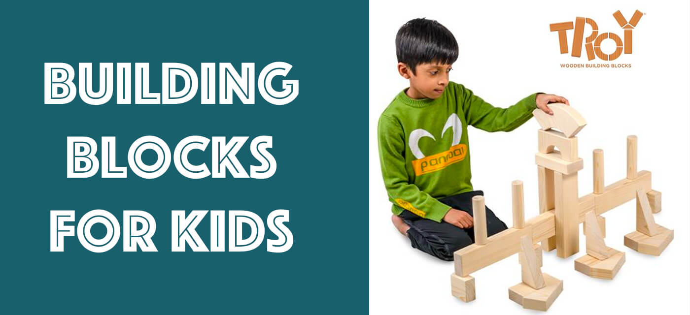 TROY Wooden Building Blocks – laying the foundation for future learning for kids! Cover Image