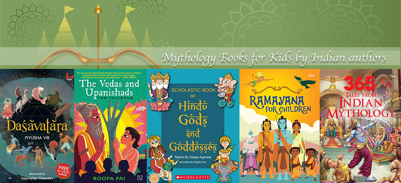 24 Indian Mythology Books for Kids by Indian authors Cover Image