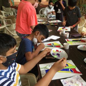 Extracurricular classes art n craft