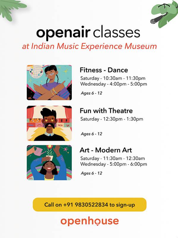 Extracurricular classes Indian Music